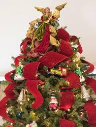 bold red christmas tree ribbon balsam hill australia