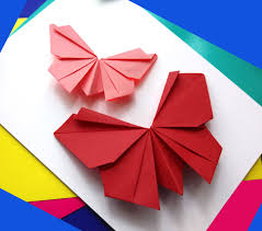origami butterfly easy to do paper butterfly wall decoration