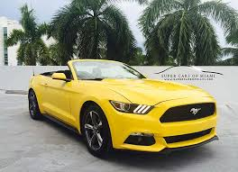 ford mustang for rent ford mustang rental miami