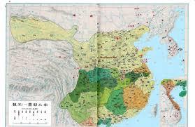 Ancient China Map China History Maps Three Kingdoms 220 280 220 581 Six Dynasties