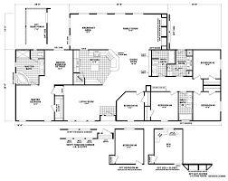 Triple Wide Floor Plans Auburn 40 X 76 2480 Sqft Mobile Home Factory Select Homes