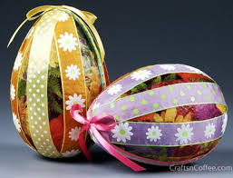 Easter Decorations With Crepe Paper by 89 Best Easter Eggs Images On Pinterest Easter Crafts Easter