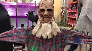 home depot halloween 2017 talking scarecrow youtube