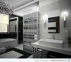 black bathrooms 20 sleek ideas for modern black and white bathrooms home design lover