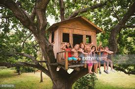 three house tree house stock photos and pictures getty images