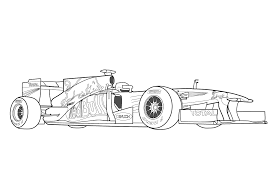 voiture de course 60 transport u2013 coloriages à imprimer