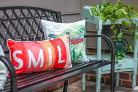 Lumbar Patio Pillows Decorating Ideas For An Outdoor Garden Party Pretty Handy