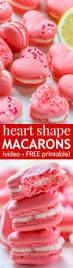 heart macarons with lemon buttercream video natashaskitchen com