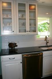 cheap glass kitchen cabinet doors should i get glass doors in kitchen