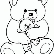 mama bear baby bear coloring coloring pages