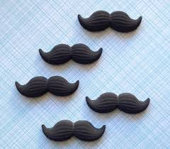mustache cake topper mustache edible sugar decorations for cupcake and cake decorating
