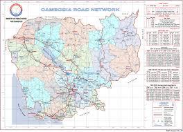 map in road road maps hello cambodia