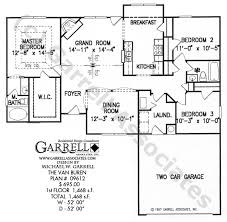corner house plans buren house plan house plans by garrell associates inc