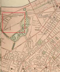 1775 Map Of Boston by Fenway Once And Future City