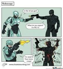 R Rated Memes - rated r real robocop by yomeme meme center