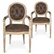 fauteuil louis xvi pas cher chaise medaillon pas cher achat fauteuil louis xvi menzzo