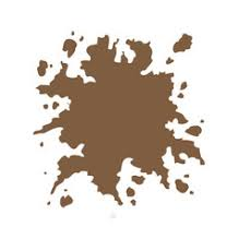 brown splash color paint explode image royalty free vector