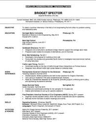 Resume For College Application Sample Example Resume For High Students For College Applications