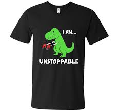 Unstoppable Dinosaur Meme - t rex dinosaur i am unstoppable t shirt xmas cool shirt mens printed