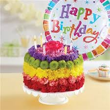 1 800 flowers birthday wishes flower cake rainbow 1 800