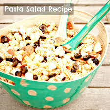 Simple Pasta Salad Recipe Simple Pasta Salad Recipe Redo Mom