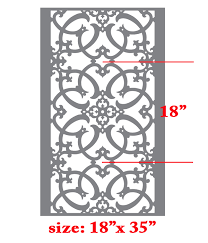Stencils For Home Decor Wall Border Stencils Pattern 013 Reusable Template For Diy Wall