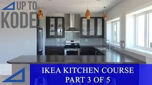 ikea black base kitchen cabinets ikea kitchen cabinet course part 3 of 5 installing ikea rails custom filler panels