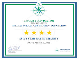 charity commitment letter special operations warrior foundation awarded 11th consecutive 4 7584 certificate page 1
