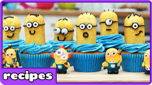 minion cupcake fun foods quick and easy cupcakes recipe from
