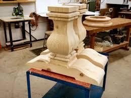 Pedestal Table For Sale Home Design Elegant Turned Pedestal Table Squareturning23l Home