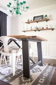 Rustic Modern Dining Room Rustic Modern Shelves Mountainmodernlife Com