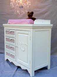 Pink Changing Table by Vintage Baby Changing Table Or Dresser