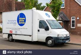 bureau mobile mobile citizens advice bureau stock photo royalty free image