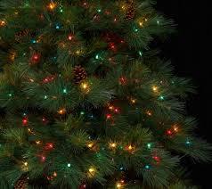 bethlehem lights 7 5 prelit needle pine tree page 1 qvc