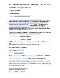 free delaware power of attorney forms in fillable pdf 9 types