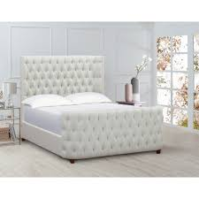 White Tufted Headboard And Footboard Trailerland Best Place To Find Inspirations On Headboard Decorations