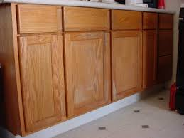 kitchen brown and white stained wooden two tone cabinet curved