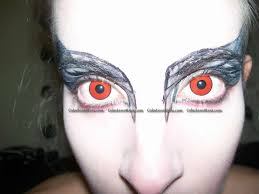 red manson crazy contact lens pair rm 39 99 halloween