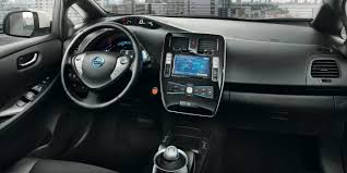 nissan leaf 2017 interior diseño nissan leaf coche eléctrico coche económico nissan