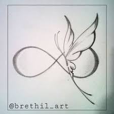 butterfly infinity tattoos search ideas
