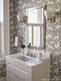 wallpaper bathroom designs 192 best designs with thibaut images on bathrooms