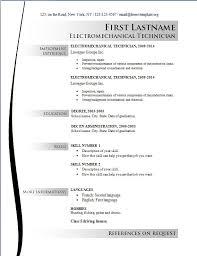 Resume Templates Free Sle Resume Template Students Resume Sle