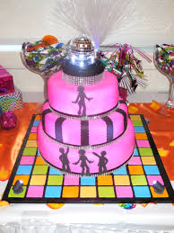 disco cake decorations interesting decoration ideas home