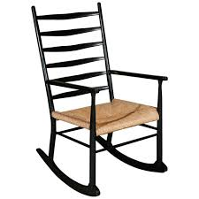 Gio Ponti rocking chair in manner of gio ponti at 1stdibs