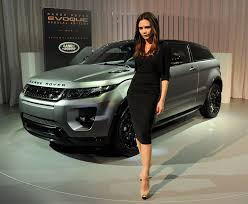 Land Rover And Victoria Beckham Unveil Evoque Superyachts Com