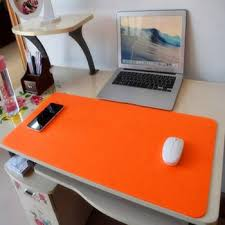 Office Desk Pad Fashion Computer Peripherals Desk Mat Modern Table Felt Office