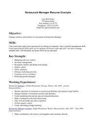 server resume objective the best for letter example pertaini peppapp
