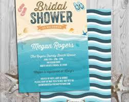 Diy Beach Theme Decor - beach bridal shower etsy