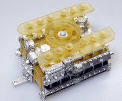 porsche 917 engine 1 24scale engine kit type 912 mfh