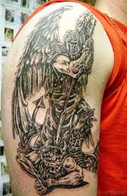 61 impressive archangel tattoo on shoulder